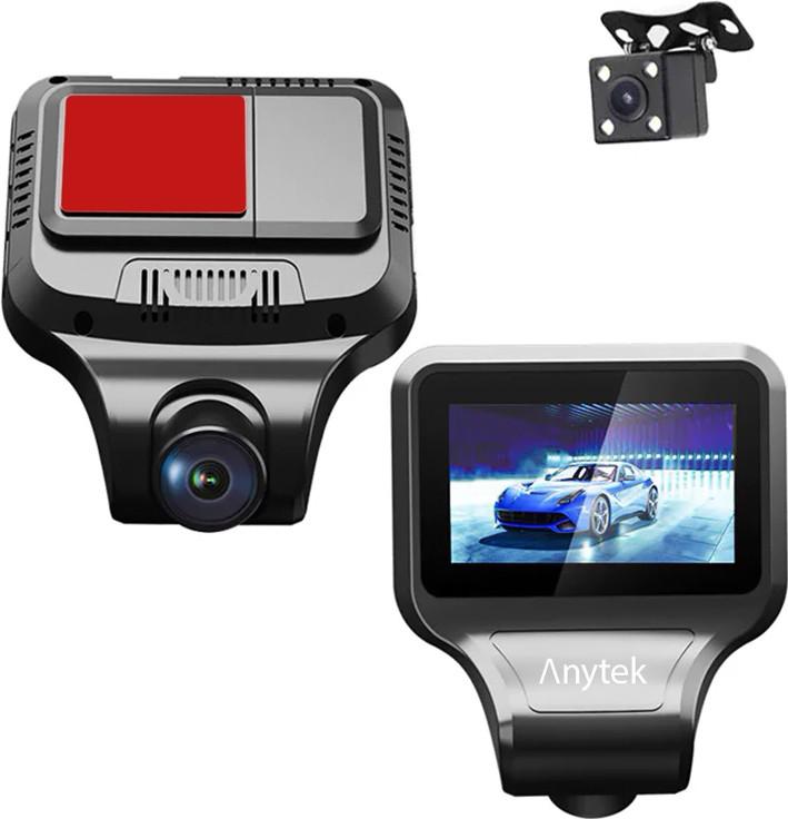 """Автомобильный видеорегистратор Anytek T99 IPS экран 2.35"""" Full HD 1080P цикличная запись"""