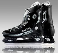 Коньки хоккейные Спортивная коллекция Leader р. 34