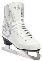 Фигурные коньки Спортивная коллекция Princess Lux 100% Leather р. 28