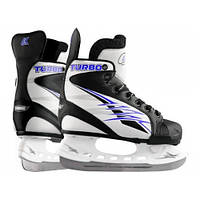 Коньки ледовые Спортивная коллекция Turbo Blue 28-31