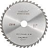 Пильний диск Metabo 216х2.4х30