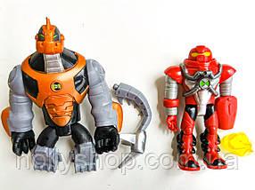 Игровой набор Ben 10 8 фигурок героев Бен 10, размер 10-12 см + Свет, фото 3