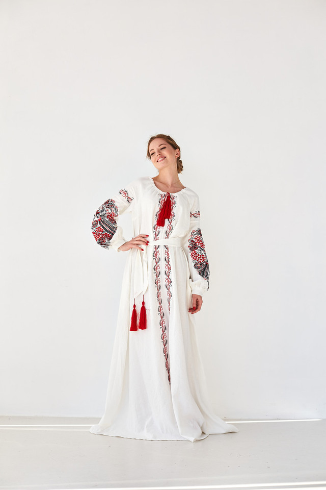 """Сукня жіноча MEREZHKA """"Петриківська"""""""
