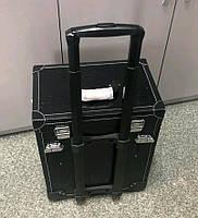 Бьюти кейс чемодан на колесах для мастера салонов красоты из кожзама 3743 чемодан для мастеров на колёсиках
