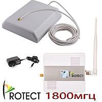 Усилитель gsm сигнала, репитер GSM/4G усилитель мобильной связи DCS/4G для офиса, квартиры 1800 мгц комплект