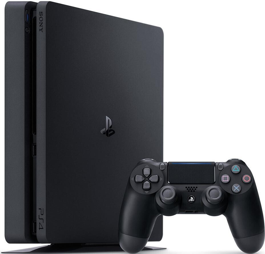 Ігрова консоль Sony PlayStation 4 Slim 500Gb Black PS4