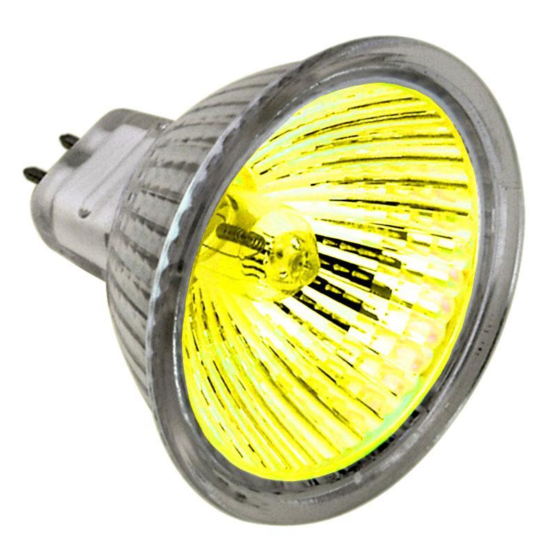 Лампа 12v - 50w KANLUX 40° /D жовта