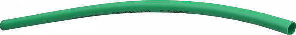 Термоусаджувальна трубка  22,0/11,0 шт.(1м) зелена, фото 2