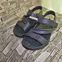 Сандалі (босоніжки) піна для хлопчика дитячі, сині розмір 33