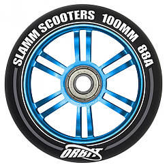Slamm колесо Orbit blue 100 мм