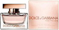 Женская парфюмированная вода Dolce & Gabbana Rose The One 50ml