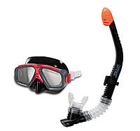 Набор для плавания под водой Маска и трубка, Intex 55949, для детей от 8 лет, Пакунок малюка