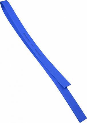 Термоусадочная  трубка  3,0/1,5 шт.(1м) синяя, фото 2