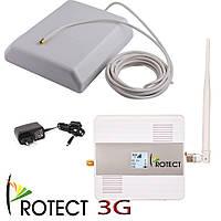 Репитер 3G усилитель сигнала 3G UMTS, комплект для квартиры, офиса репитер 3g сигнала