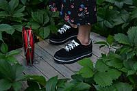 Кеди натуральна замша чорні, фото 1
