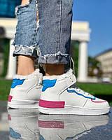 Женские Ботинки Форс Белые Зима, фото 1