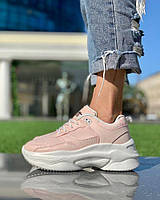 Жіночі Кросівки Світло Рожеві, фото 1