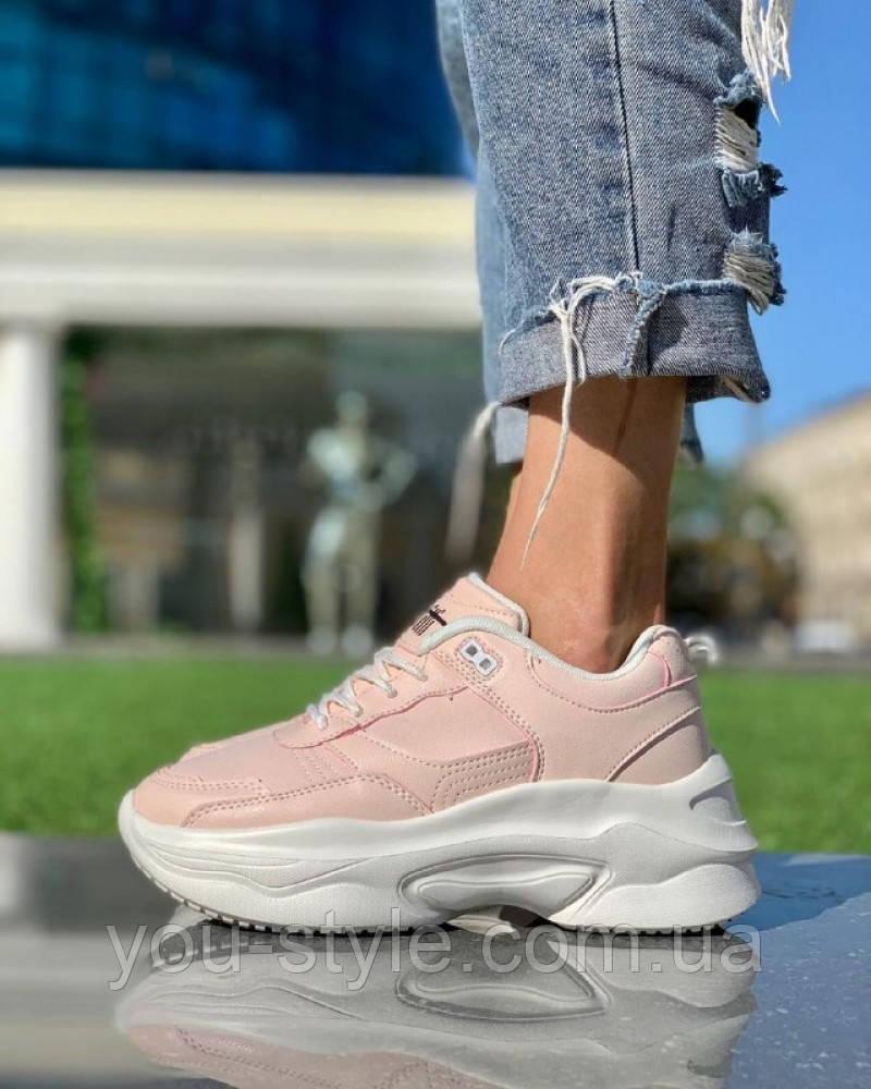 Жіночі Кросівки Світло Рожеві