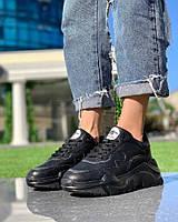 Женские Кроссовки Лондон черные, фото 1