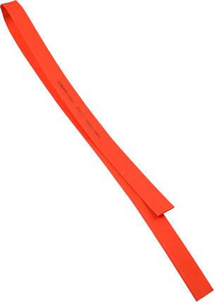 Термоусадочная  трубка  2,0/1,0 шт.(1м) красная, фото 2