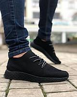 Взуття Текстиль Сітка Чорна, фото 1