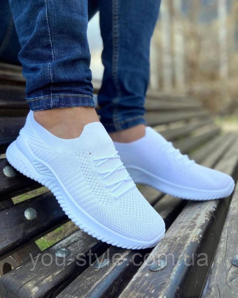 Обувь Сетка Белые