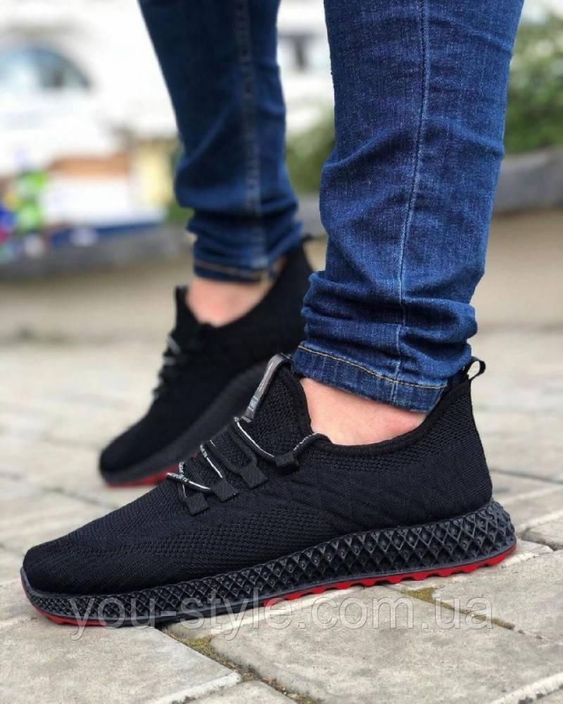 Обувь М спорт Черные
