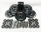 Колеса для роликовых коньков 8шт с подшипником  ABEC-11 KEPAI-80, фото 3