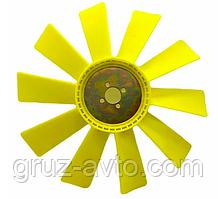 Крильчатка вентилятора ЗІЛ-130 пластикова 10 лопатей