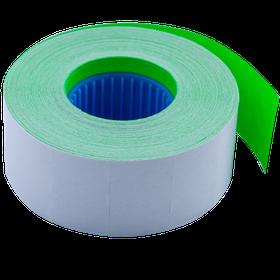 Цінник 26*16мм (1000шт, 16м), прямокутний, внутрішня намотування, зелений