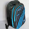 Шкільний рюкзак для хлопчика, з ортопедичною спинкою, Полоси, фото 3