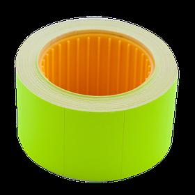 Цінник 30*20мм (300шт, 6м), прямокутний, зовнішня намотування, жовтий