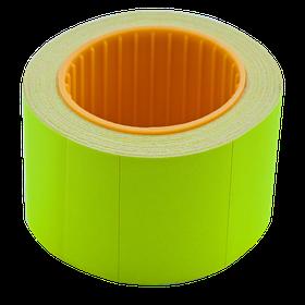 Цінник 35*25мм (240шт, 6м), прямокутний, зовнішня намотування, жовтий