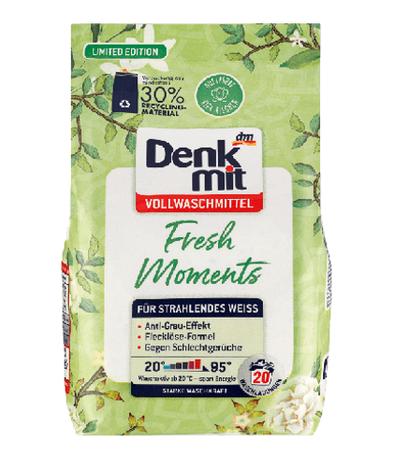 Универсальный стиральный порошок Denkmit Fresh Moments Limited Edition 1,35кг. 20 стирок.