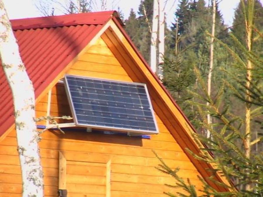 Солнечный комплект на дачу 40 Вт