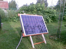 Солнечный комплект на дачу 40 Вт, фото 3