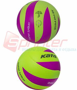 Мяч волейбольный клееный-KATA НК-12