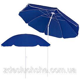 Пляжный зонт с регулируемой высотой и наклоном Springos 180 см BU0007 SKL41-252489