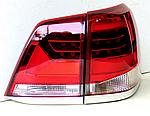 Задняя оптика 2007-2015 (дизайн 2016-2021) для Toyota Land Cruiser 200