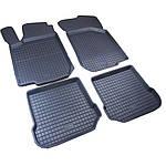 Volkswagen Bora Гумові килимки з бортом (4 шт, Polytep)