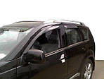 Mitsubishi Outlander (2006-2012) Вітровики (4 шт, HIC)