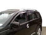 Ветровики (4 шт, HIC) для Mitsubishi Outlander 2006-2012 гг.