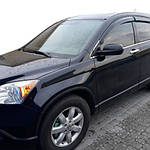 Honda CRV (2007-2011) Ветровики (4 шт, HIC)