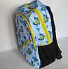 Школьный рюкзак с ортопедической спинкой, 4 отделения, Бабочки, фото 3