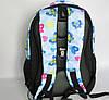 Школьный рюкзак с ортопедической спинкой, 4 отделения, Бабочки, фото 4