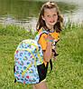 Школьный рюкзак с ортопедической спинкой, 4 отделения, Бабочки, фото 7