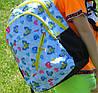 Школьный рюкзак с ортопедической спинкой, 4 отделения, Бабочки, фото 6
