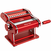 Marcato Atlas 150 Rosso паста-машина для приготування домашньої локшини і нарізки тіста