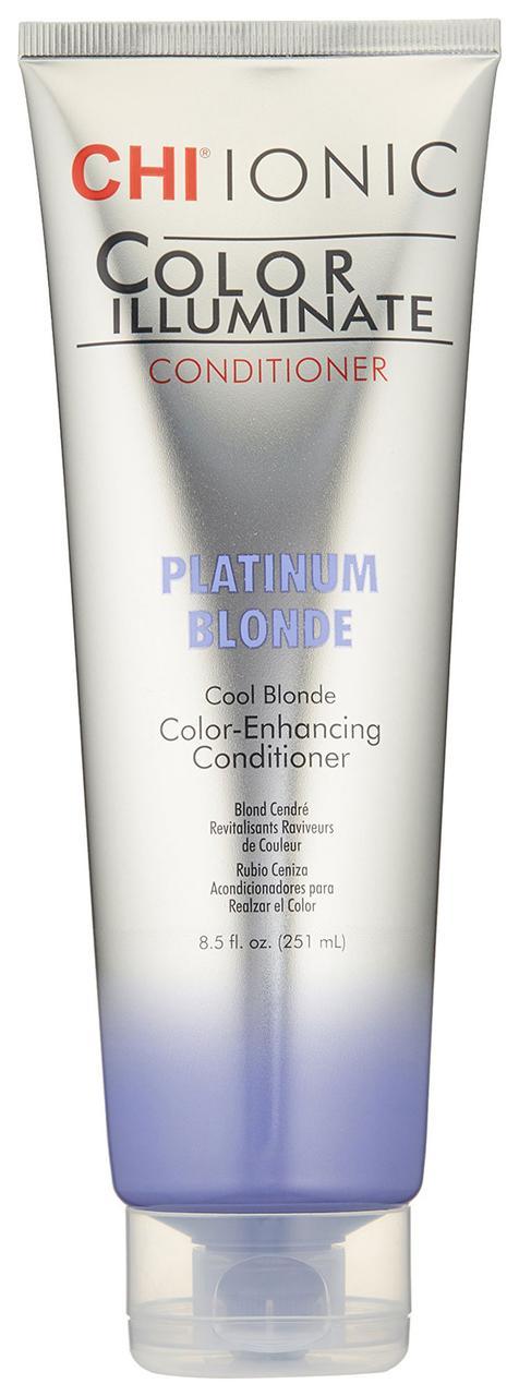 """Оттеночный кондиционер """"Платиновый блонд"""" CHI Ionic Color Illuminate Conditioner Platinum Blonde 251 мл"""