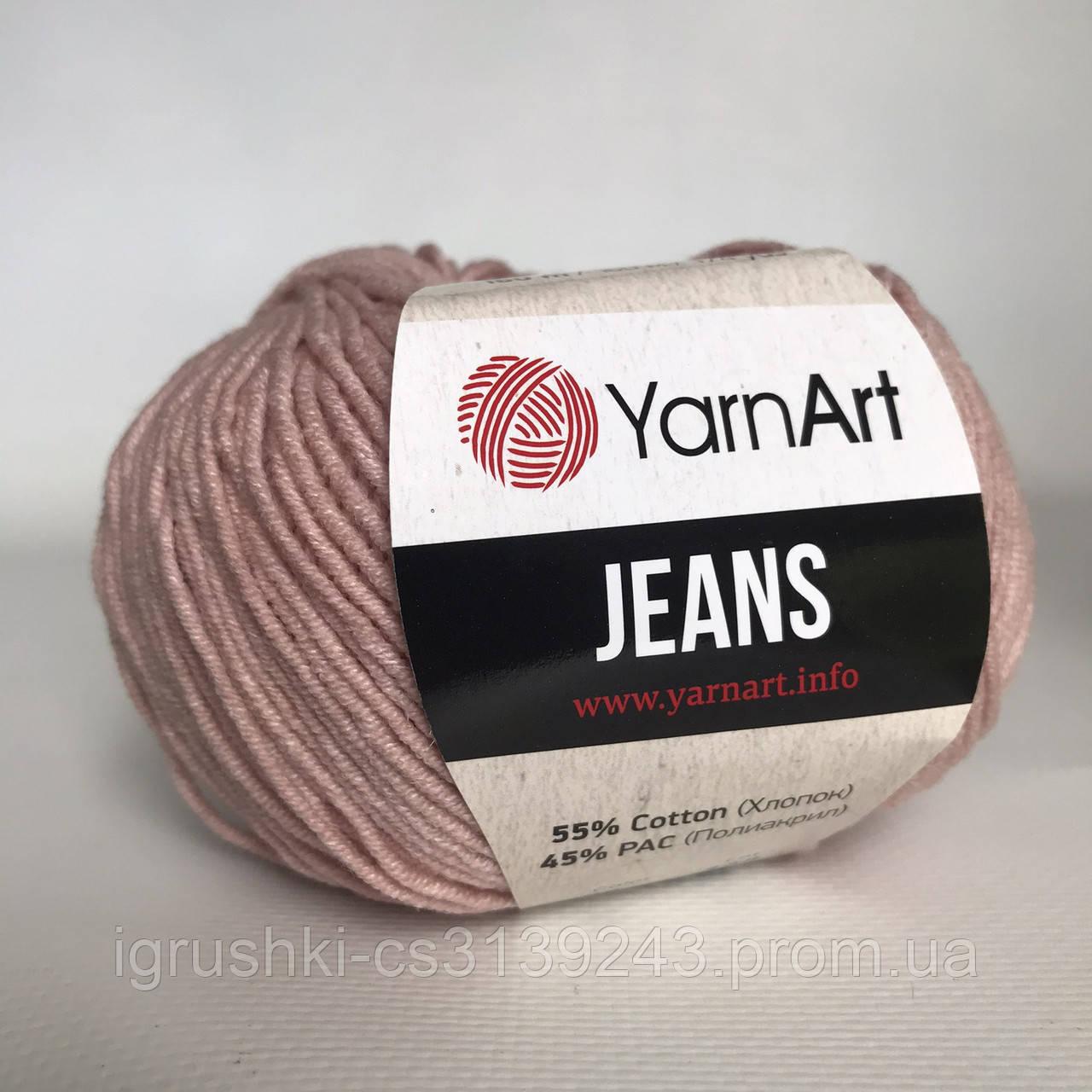 YarnArt Jeans (ярнарт джинс) 83 Пыльная роза